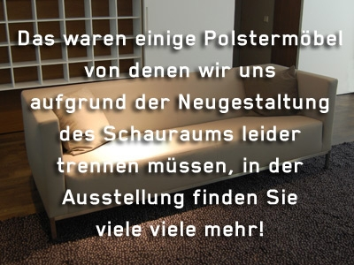 Polstermöbel - Outlet - Möbel & Polstermöbel - Neue Wiener ...